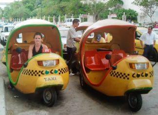 Cocotaxi-Cuba