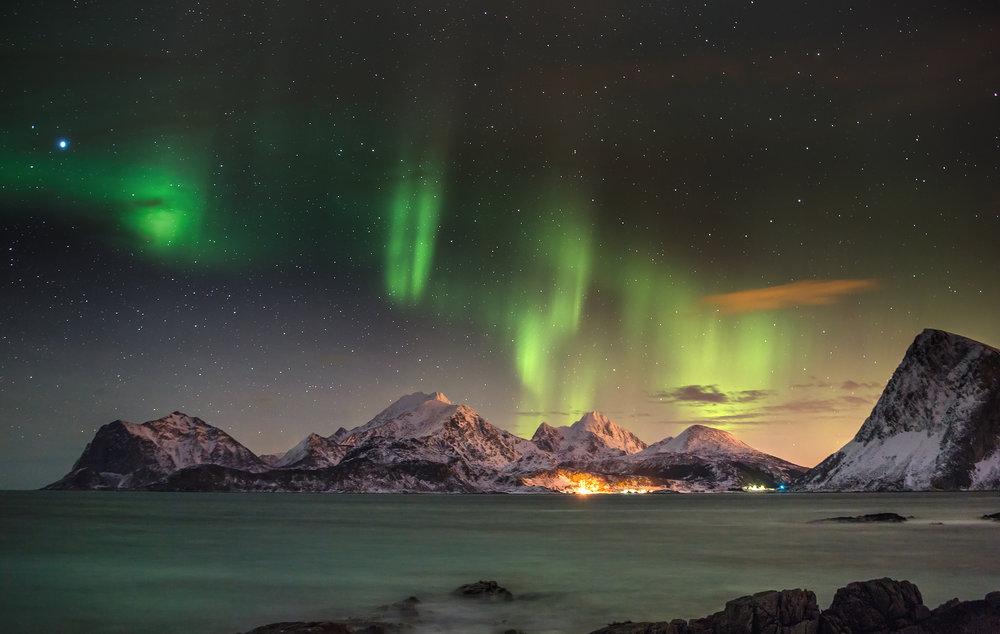 auroras-boreales-Tromsø-Noruega