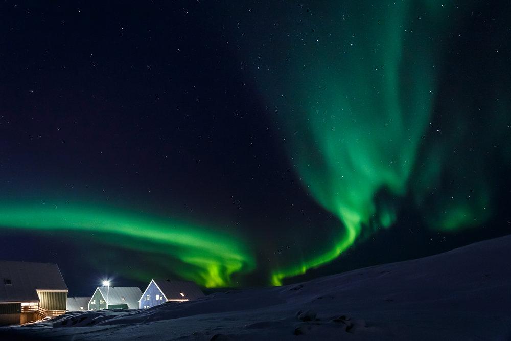 auroras-boreales-Ilulissat-Groenlandia