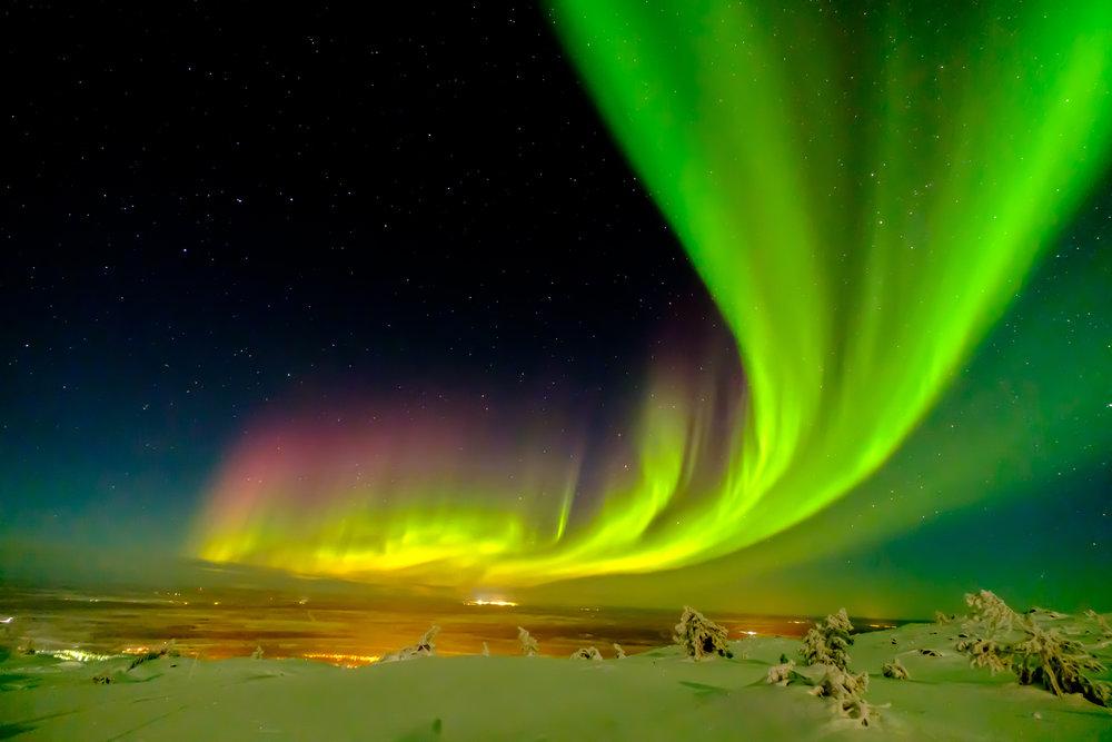 auroras-boreales-Parque-Natural-Abisko-Suecia