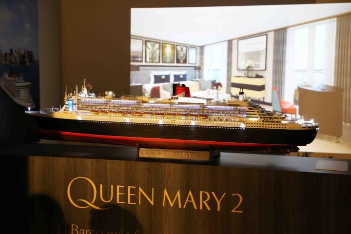 maqueta Queen Mary