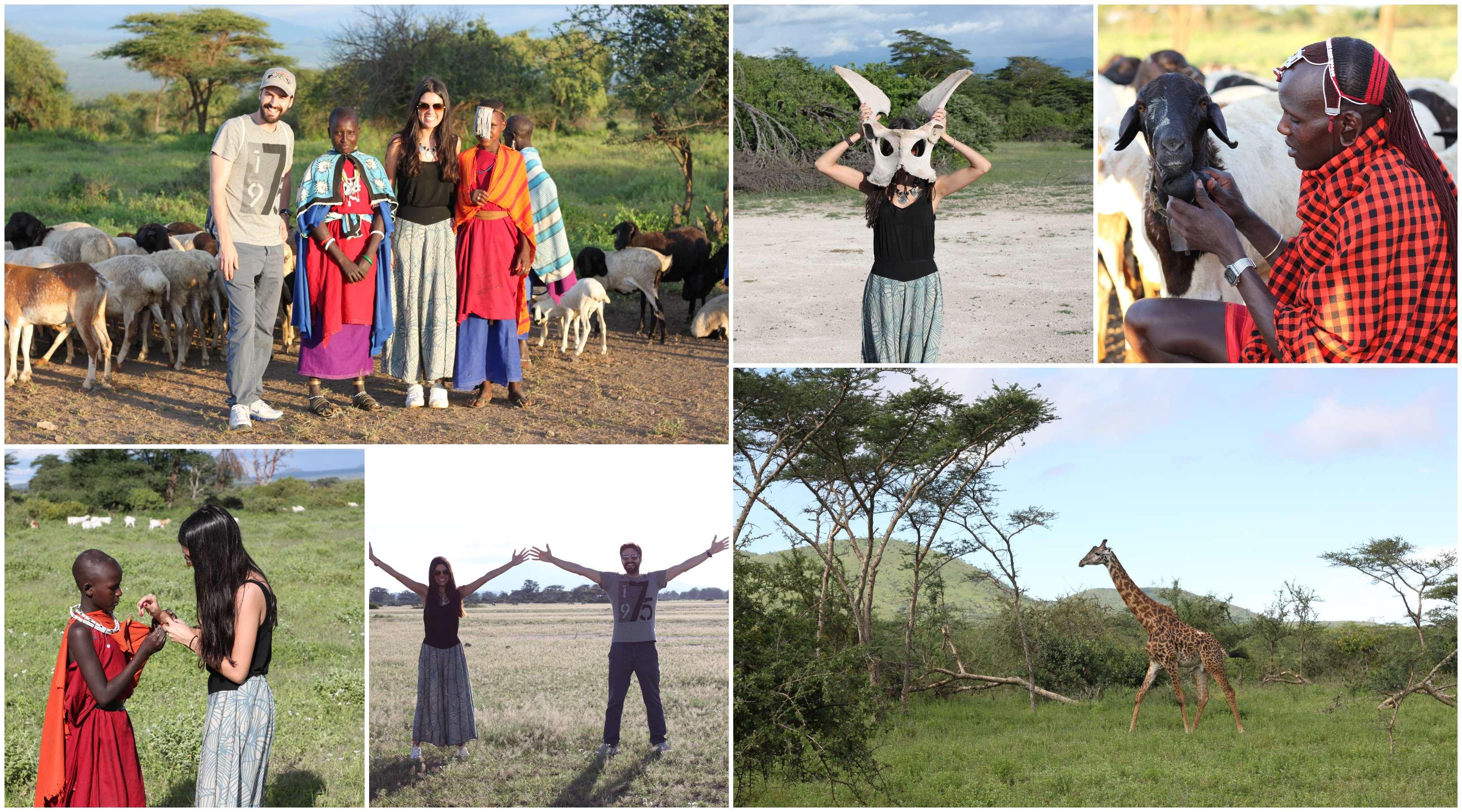 safari con masais en Tanzania