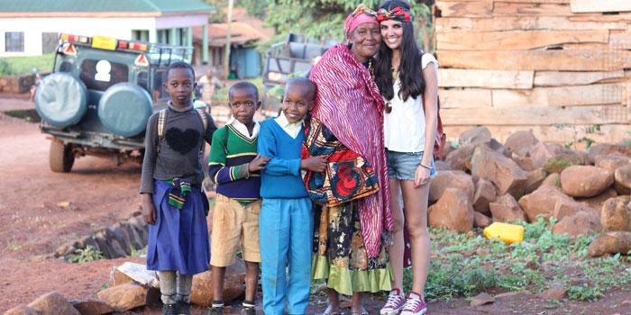 Safari en tanzania y paseo con la gente local de Karatu