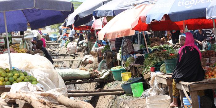 Safari en tanzania y mercado local