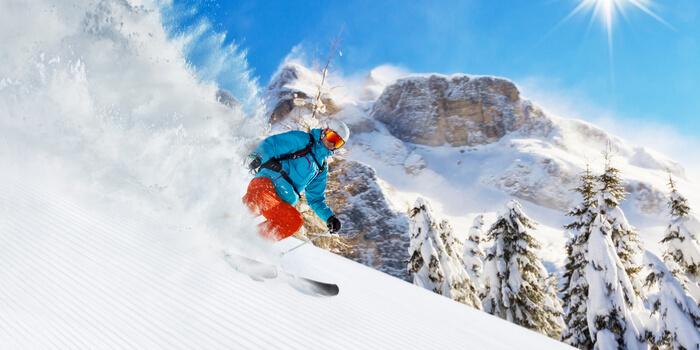 las mejores estaciones de esqui del mundo en Italia
