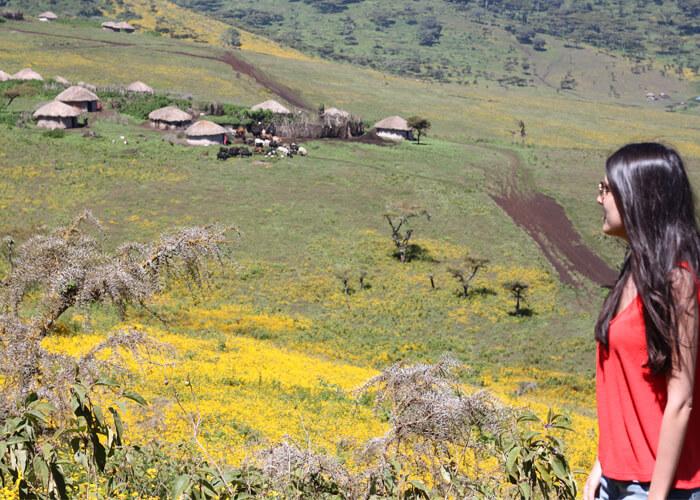 Safari en Serengeti con masais