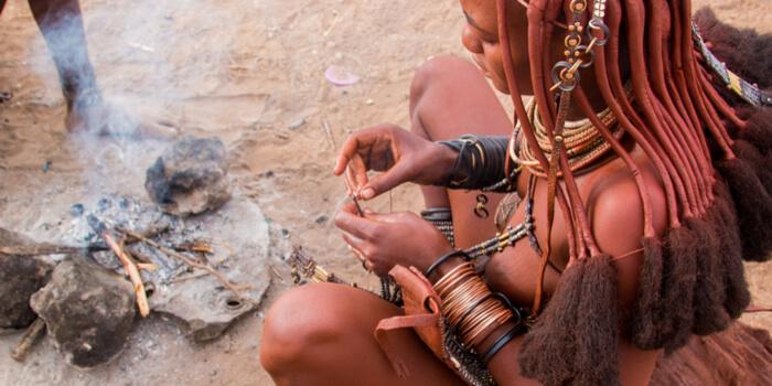 tribus africanas de los himba