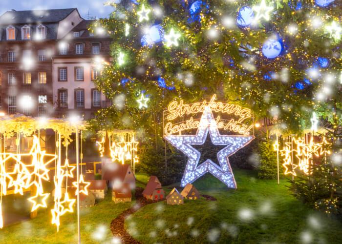 mercadillo navideño de Estrasburgo