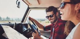 viaje de novios coche