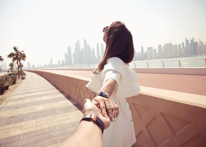 viaje de novios Dubai