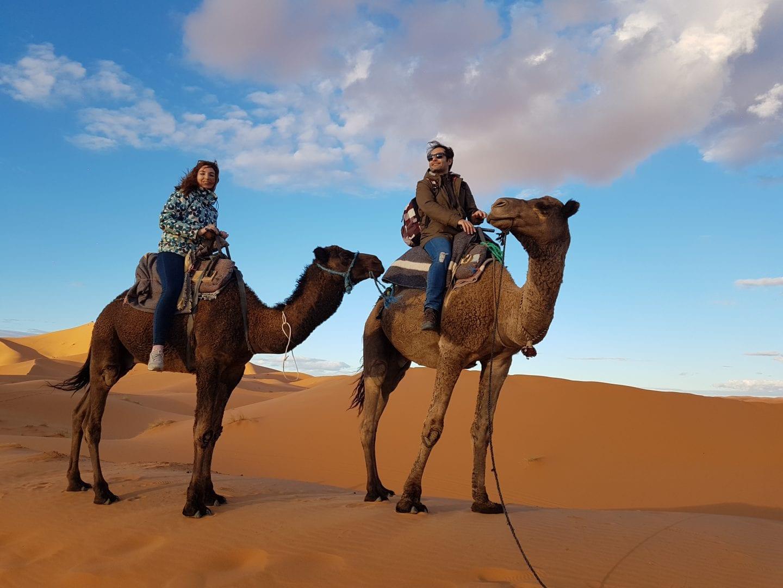 viaje a marruecos en camello