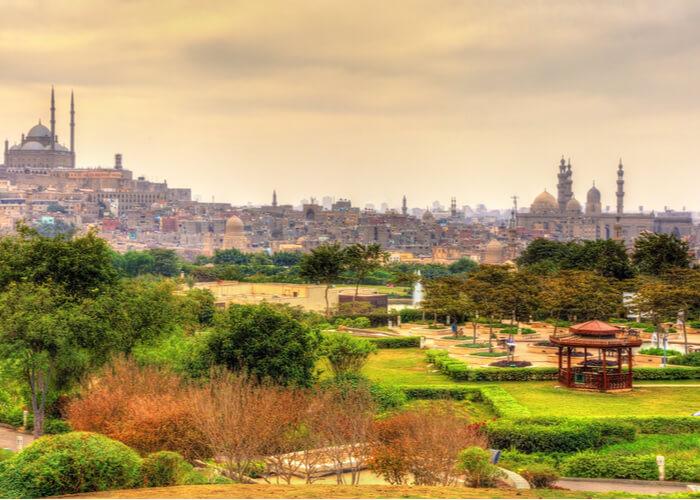 viaje-a-el-cairo-diferente-parque-al-azhar