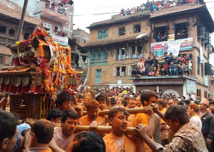 Sindoor-jatra-nepal año nuevo