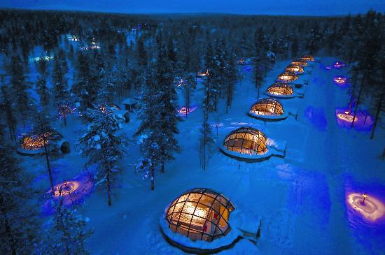 Kakslauttanen-Arctic-Resort-Finlandia